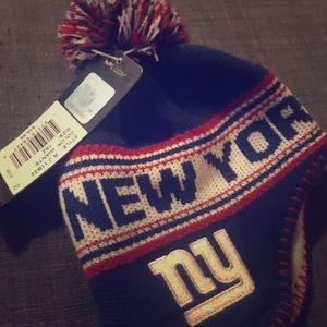 NFL NY Giants baby hat
